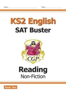 Image for New KS2 English Reading SAT Buster: Non-Fiction - Book 2 (for the 2021 tests)
