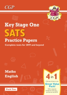 Image for New KS1 Maths and English SATS Practice Papers Pack (for the 2021 tests) - Pack 2
