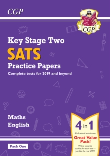 Image for KS2 Maths and English SATS Practice Papers Pack (for the 2021 tests) - Pack 1