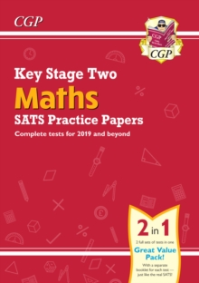 Image for KS2 Maths SATS Practice Papers (for the tests in 2021)
