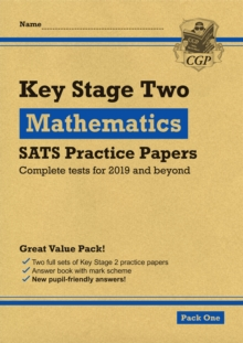 Image for New KS2 Maths SATS Practice Papers: Pack 2 (for the 2019 tests)