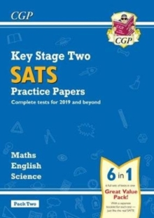 Image for New KS2 Complete SATS Practice Papers Pack: Science, Maths & English (for the 2019 tests) - Pack 2