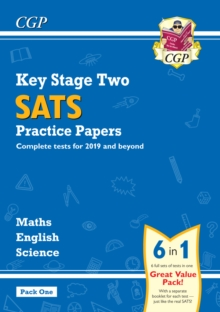 Image for New KS2 Complete SATS Practice Papers Pack: Science, Maths & English (for the 2019 tests) - Pack 1