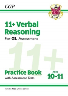 Image for 11+ GL Verbal Reasoning Practice Book & Assessment Tests - Ages 10-11 (with Online Edition)