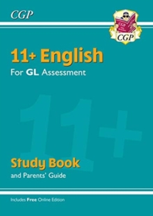 Image for 11+ GL English Study Book (with Parents' Guide & Online Edition)