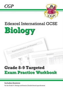 Image for Edexcel International GCSE Biology: Grade 8-9 Targeted Exam Practice Workbook (with answers)