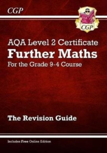 Image for New Grade 9-4 AQA Level 2 Certificate: Further Maths - Revision Guide (with Online Edition)