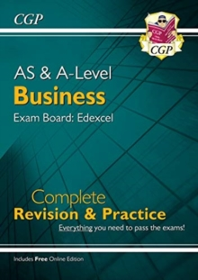 Image for AS and A-Level Business: Edexcel Complete Revision & Practice with Online Edition