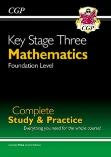 Image for KS3 Maths Complete Revision & Practice - Foundation (with Online Edition)