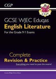 Image for New Grade 9-1 GCSE English Literature WJEC Eduqas Complete Revision & Practice (with Online Edition)