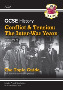 Image for Conflict & tension  : the inter-war years, 1918-1939