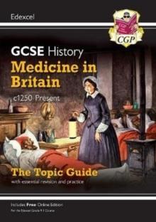 Image for Medicine in Britain, c1250-present  : the topic guide