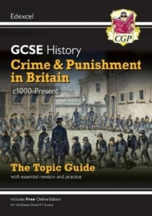 Image for Crime and punishment in Britain, c1000-present  : the topic guide