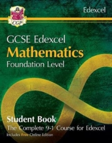 Image for New grade 9-1 GCSE maths EdexcelFoundation,: Student book