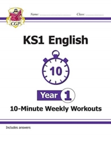 Image for KS1 English 10-Minute Weekly Workouts - Year 1