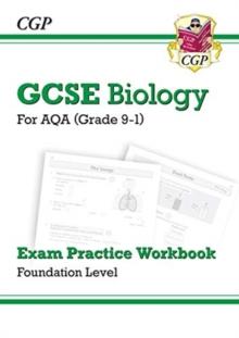 Image for Grade 9-1 GCSE Biology: AQA Exam Practice Workbook - Foundation