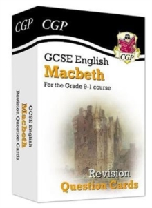 Image for New Grade 9-1 GCSE English Shakespeare - Macbeth Revision Question Cards