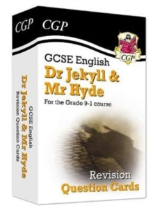 Image for New Grade 9-1 GCSE English - Dr Jekyll and Mr Hyde Revision Question Cards