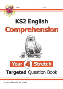 Image for KS2 English Targeted Question Book: Challenging Comprehension - Year 4 Stretch (with Answers)