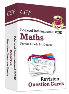Image for New Grade 9-1 Edexcel International GCSE Maths: Revision Question Cards