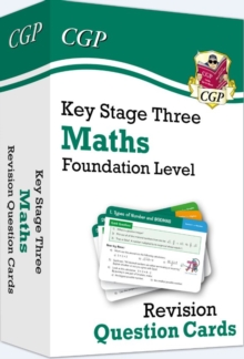 Image for New KS3 Maths Revision Question Cards - Foundation