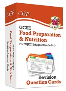 Image for New Grade 9-1 GCSE Food Preparation & Nutrition WJEC Eduqas Revision Question Cards
