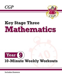 Image for New KS3 Maths 10-Minute Weekly Workouts - Year 9