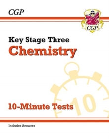 Image for New Key Stage 3 chemistry  : 10-minute tests (with answers)