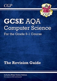 Image for GCSE AQA computer science  : for the grade 9-1 course: Revision guide