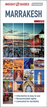 Image for Insight Guides Flexi Map Marrakesh (Insight Maps)