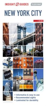Image for Insight Guides Flexi Map New York City (Insight Maps)