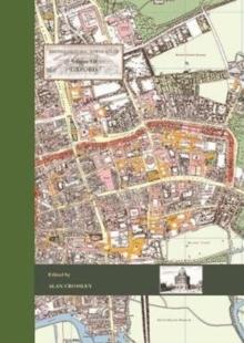 Image for British Historic Towns Atlas Volume VII: Oxford