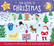 Image for Ten sleeps to Christmas  : 3-D counting book