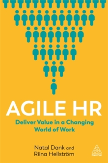Image for Agile HR  : improve performance in a changing world of work