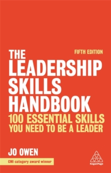Image for The leadership skills handbook  : 100 essential skills you need to be a leader