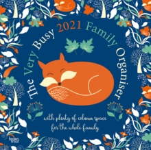 Image for VERY BUSY FAMILY ORGANISER 2021 SQUARE W