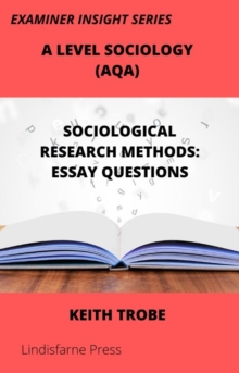 Image for Sociological Research Methods: Essay Questions