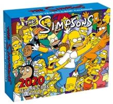 Image for The Simpsons 2020  Desk Block Calendar - Official Desk Block Format Calendar