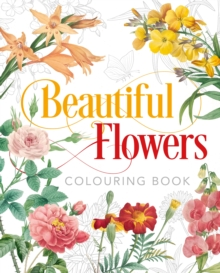 Image for Beautiful Flowers Colouring Book