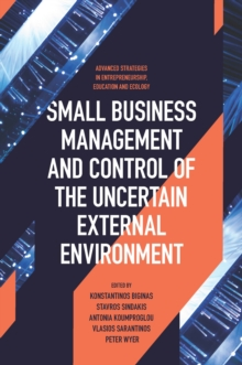 Image for Small business management and control of the uncertain external environment
