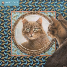 Image for Ivory Cats by Lesley Anne Ivory Wall Calendar 2022 (Art Calendar)
