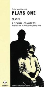 Image for Von Horvâath one  : 'Sladek', a sexual congress