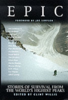 Image for Epic  : stories of survival from the world's highest peaks