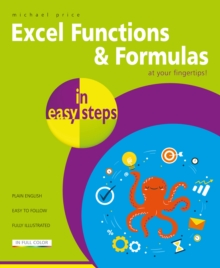 Image for Excel functions and formulas in easy steps