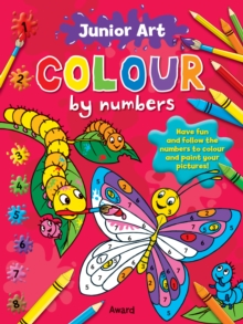 Image for Junior Art Colour By Numbers: Butterfly