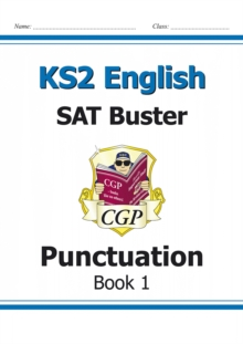 Image for New KS2 English SAT Buster: Punctuation - Book 1