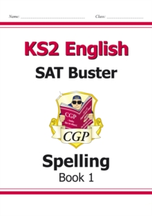 Image for New KS2 English SAT Buster: Spelling - Book 1