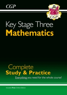 Image for KS3 Maths Complete Revision & Practice - Higher (with Online Edition)