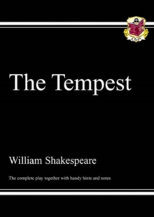 Image for The tempest  : the complete play together with handy hints and notes