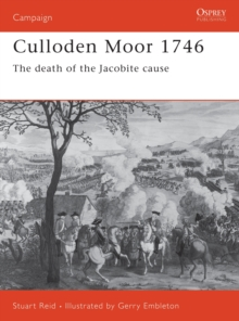 Image for Culloden Moor 1746  : the death of the Jacobite cause